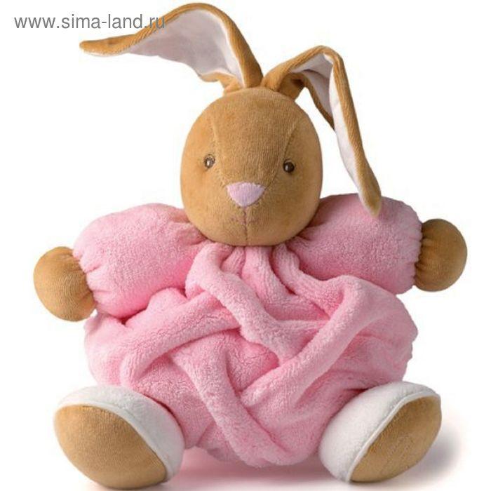 """Мягкая игрушка """"Заяц. Плюм"""", цвет розовый"""