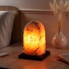 """Светильник соляной """"Гора"""" цельный кристалл, большая, 5-4 кг"""
