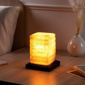 """Соляная лампа """"Зебра"""", 15,5 см"""