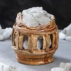 """Соляная лампа """"Колизей"""", керамическое основание, 16 см, 1-2 кг - фото 1657698"""