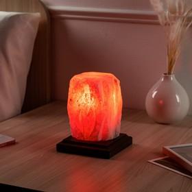 Соляная лампа 'Пламя' 13,5 см × 13,5 см × 16 см, 2-3 кг Ош