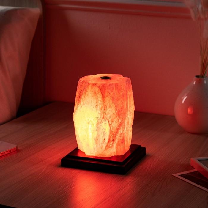 """Соляная лампа """"Пламя арома"""", 12х12х15см, 2-3 кг"""