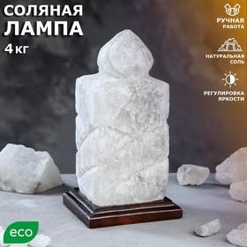 Соляная лампа 'Свеча' 25 см × 14 см × 13,5 см, 3-4 кг Ош