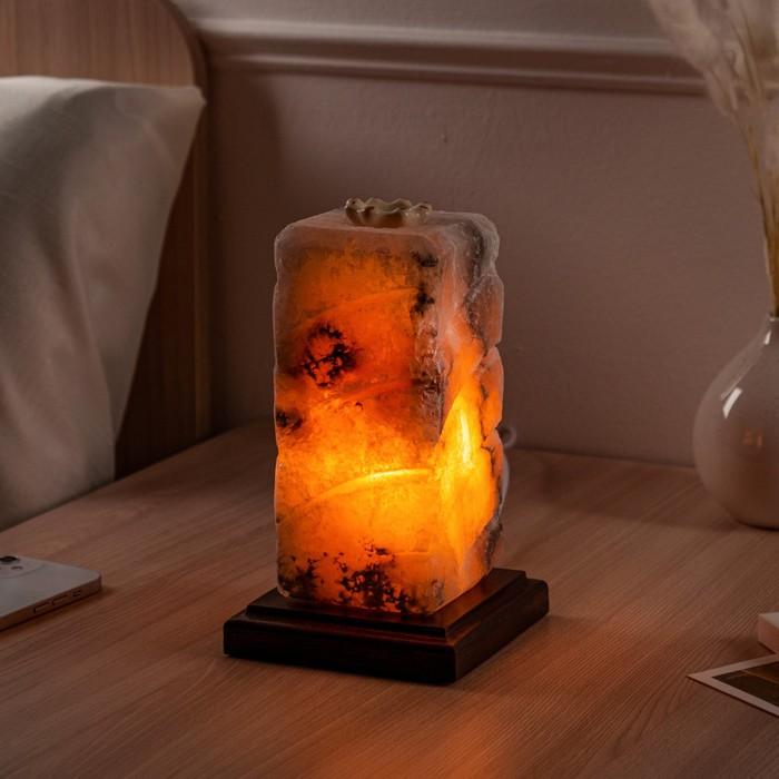 """Соляная лампа """"Элегант"""", 21 см, 2,93 кг"""