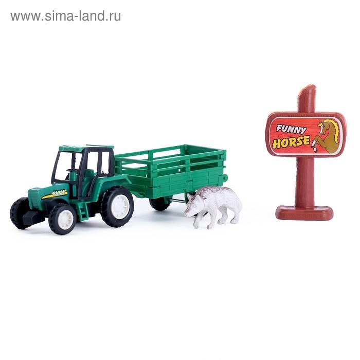 """Трактор инерционный """"Фермер"""", МИКС"""