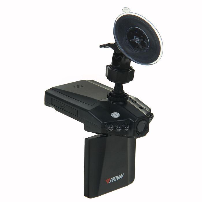 """Видеорегистратор Artway 022, 2.5"""" TFT, обзор 120°, 1280x720 HD"""