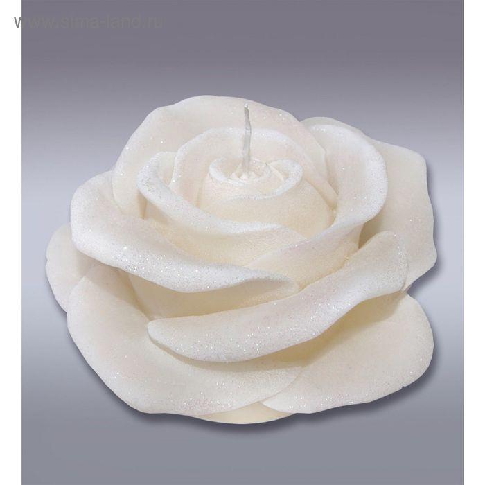 Свеча супер роза сл.кость