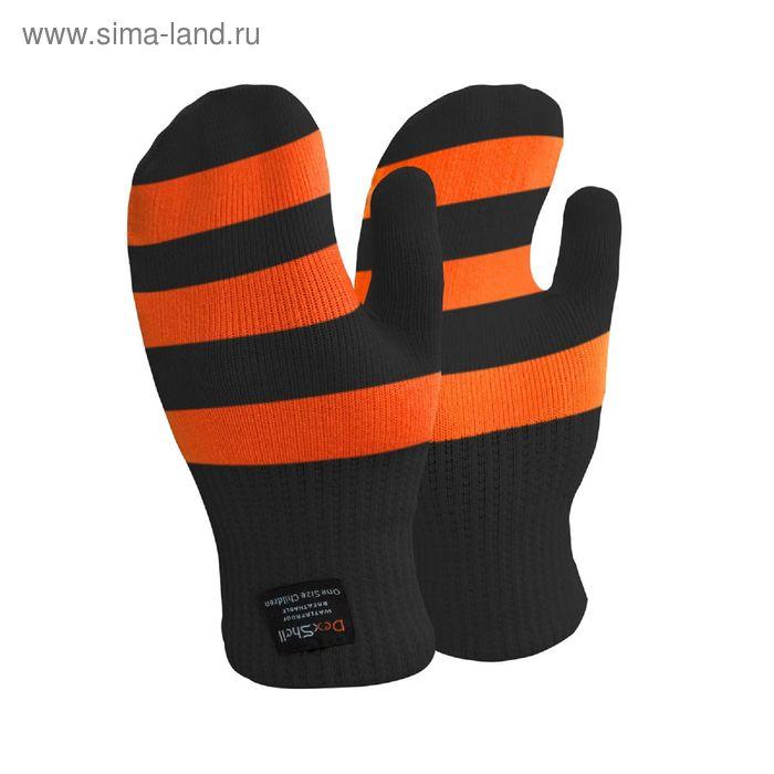 Варежки детские водонепроницаемые оранжевые Dexshell Children mittens