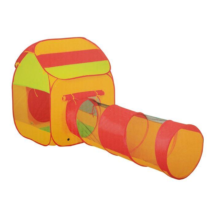Палатка детская игровая с лабиринтом «Спиралька» 215х80х110см