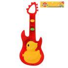 Музыкальная игрушка гитара «Уточка», звуковые эффекты, МИКС