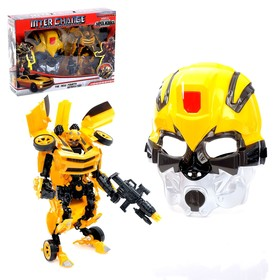 Робот «Автобот», трансформируется, с маской и оружием, МИКС