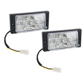 Противотуманные фары AVS PF-174L, светодиодные, 10 LED, LADA 2110-2112, набор 2 шт