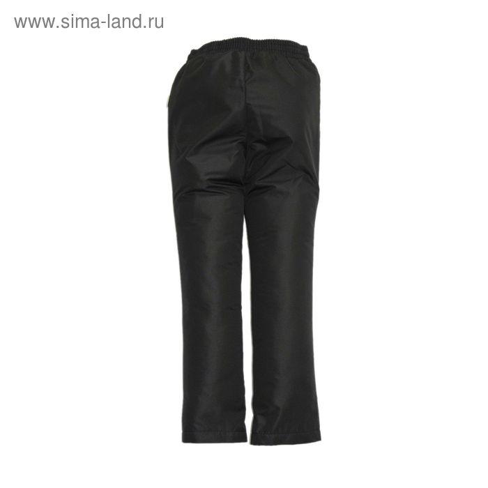 Брюки для девочки демисезонные, рост 140 см, цвет чёрный 10-338