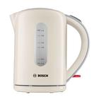 Чайник электрический Bosch TWK7607, 2200 Вт, 1.7 л, бежевый