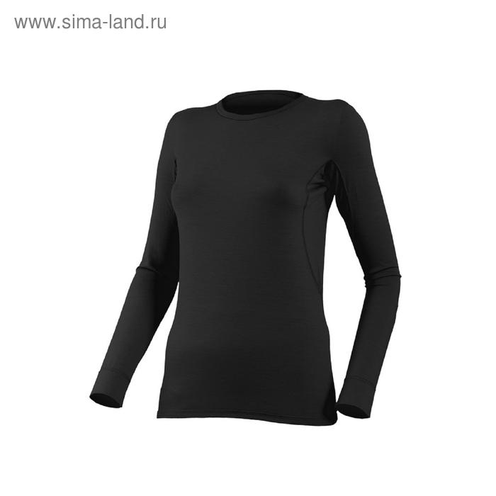 Футболка женская Lina, длинный рукав, шерсть 160/ 9090, размер S