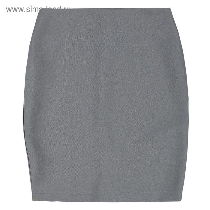 Юбка для девочки, рост 158 см, цвет серый, 09-310