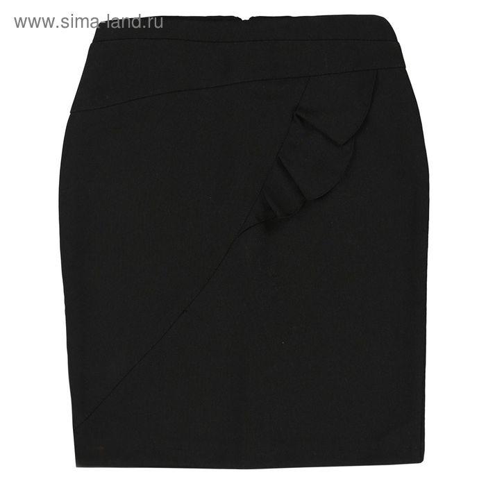 Юбка для девочки, рост 140 см, цвет чёрный 09-311