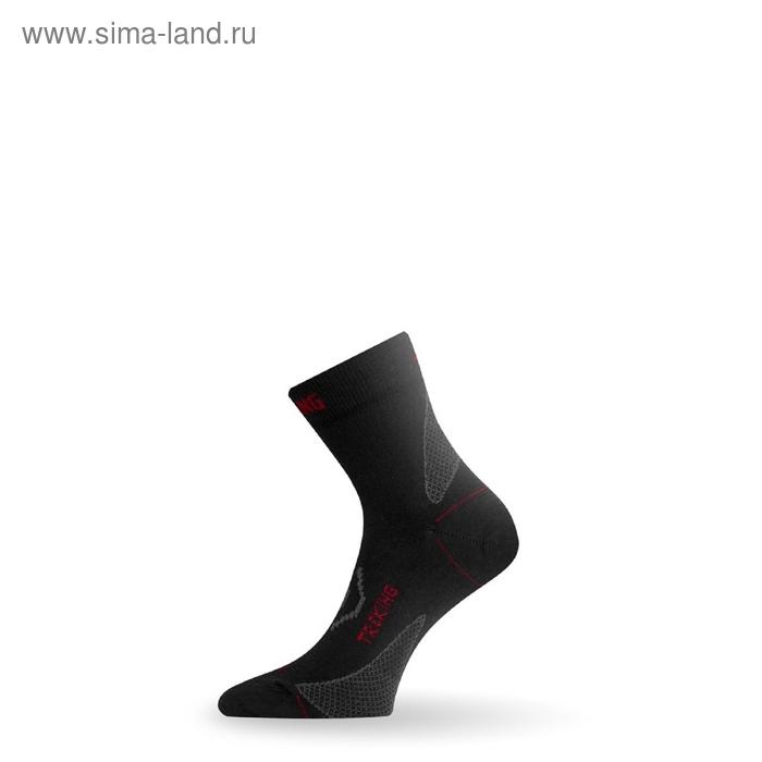 Носки трекинговые TNW 983 / шерсть+синтетика / черные M летние
