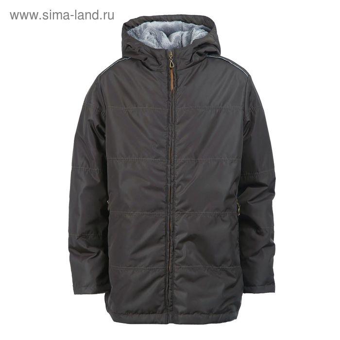 Куртка для мальчиков демисезонная, рост 140 см, цвет хаки 17-447