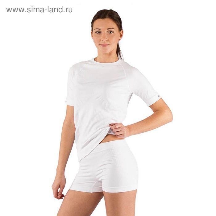 Футболка женская Alba/ кор. рукав/ синтетика/ белый/ S-M