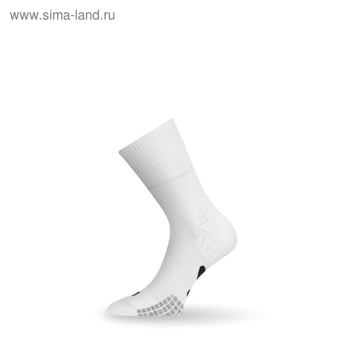 Носки трекинговые TRH098 / акрил / белый L летние