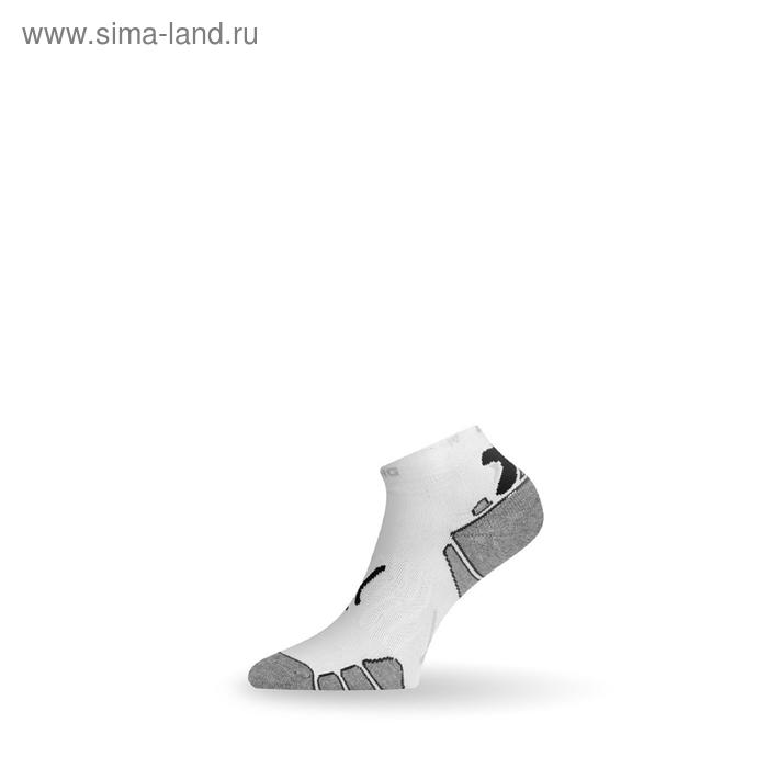 Носки RUN 009 / синтетика / белые с рисунком XL летние