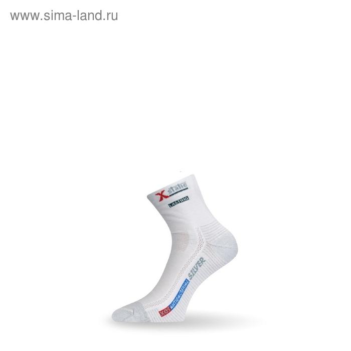 Носки трекинговые XOS 001 / кулмакс / серебряные нити/ белый XL летние
