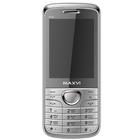 Мобильный телефон Maxvi P10, серебристый