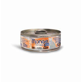 Влажный корм Monge Cat Natural для кошек, тунец с лососем, ж/б, 80 г