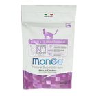 Сухой корм Monge Cat для взрослых кошек, курица, 400 г