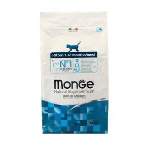 Сухой корм Monge Cat для котят, 1,5 кг
