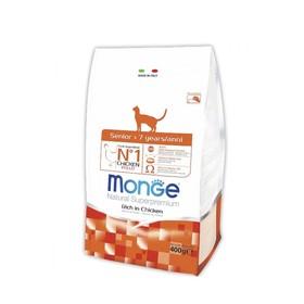 Сухой корм Monge Cat для пожилых кошек, 400 г
