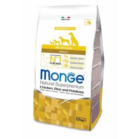 Сухой корм Monge Dog Speciality для собак, курица/рис/картофель, 12 кг.