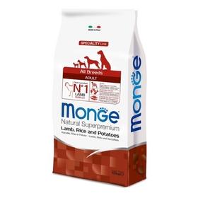 Сухой корм Monge Dog Speciality для собак, утка/рис/картофель, 2,5 кг.