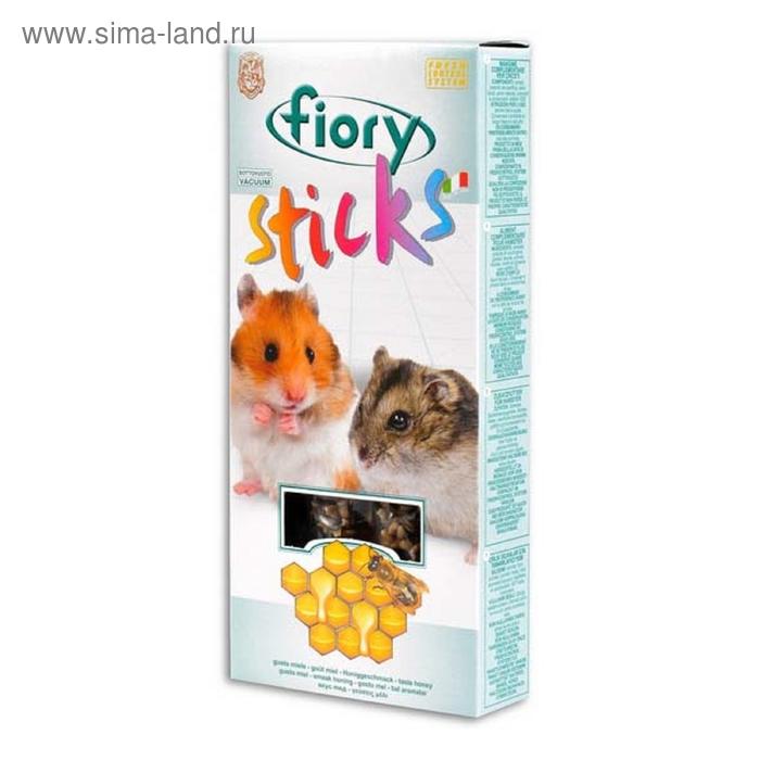 Лакомство для хомяков FIORY Sticks, с медом, 2х50 г