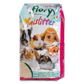 Наполнитель кукурузный для грызунов FIORY Maislitter Profumato, дикие ягоды, 5 л