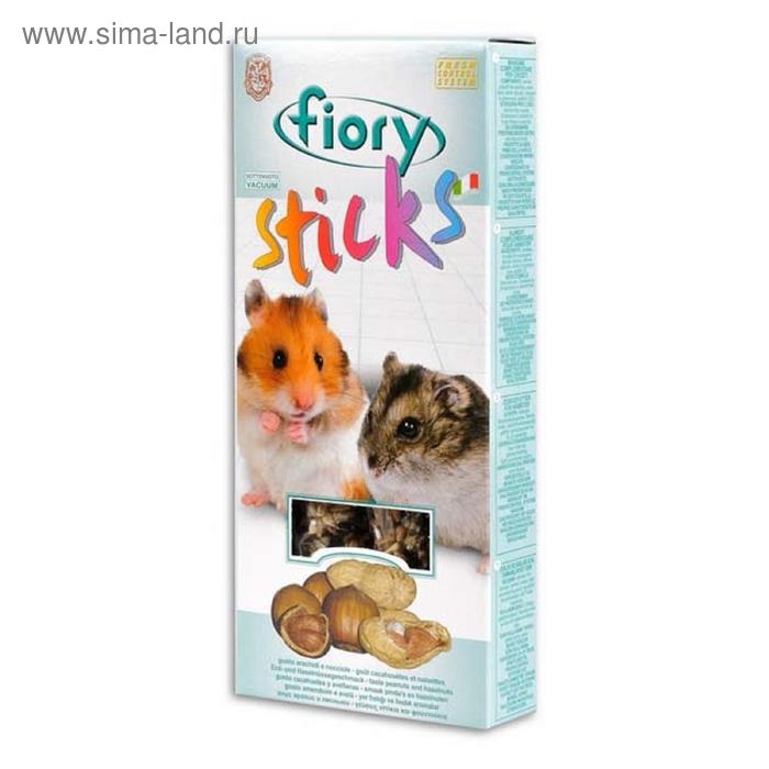 Лакомство для хомяков FIORY Sticks, с орехами, 2х50 г