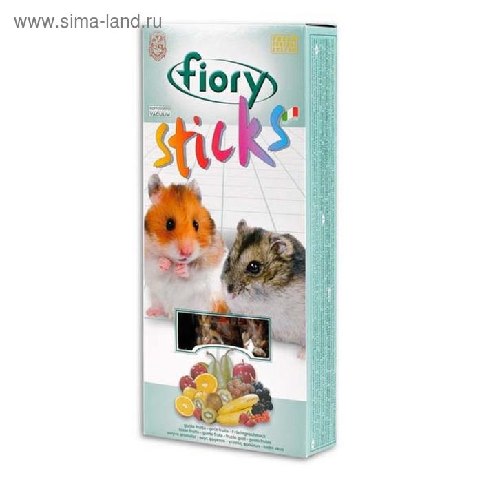 Лакомство для хомяков FIORY Sticks, с фруктами, 2х50 г
