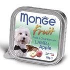 Влажный корм Monge Dog Fruit для собак, ягненок с яблоком, 100 г