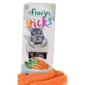 Лакомство для шиншилл FIORY Sticks, с морковью, 2х40 г
