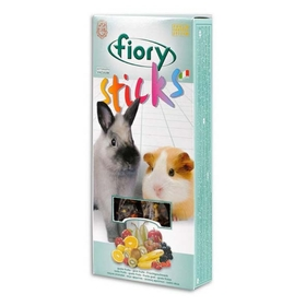 Лакомство для кроликов и морских свинок FIORY Sticks. с фруктами, 2х50 г
