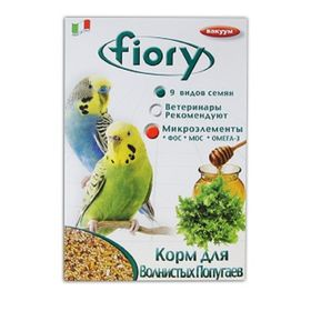 Корм FIORY Pappagallini для волнистых попугаев, 400 г.
