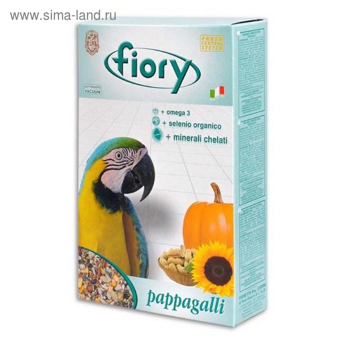 Сухой корм для крупных попугаев FIORY Pappagalli, 700 г