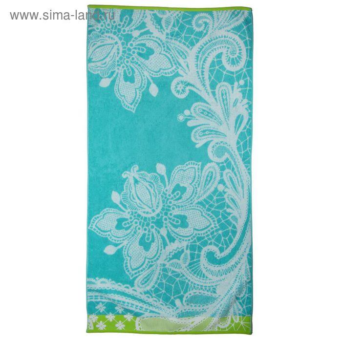 Полотенце махровое Lace flower ПЦ-3502-2140 70х130 см хл100% 460 гр/м