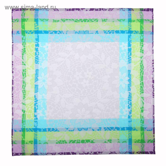 Салфетка кухонная пестротканная гладь Mosaico ПЦ-356-1677 50х50 см