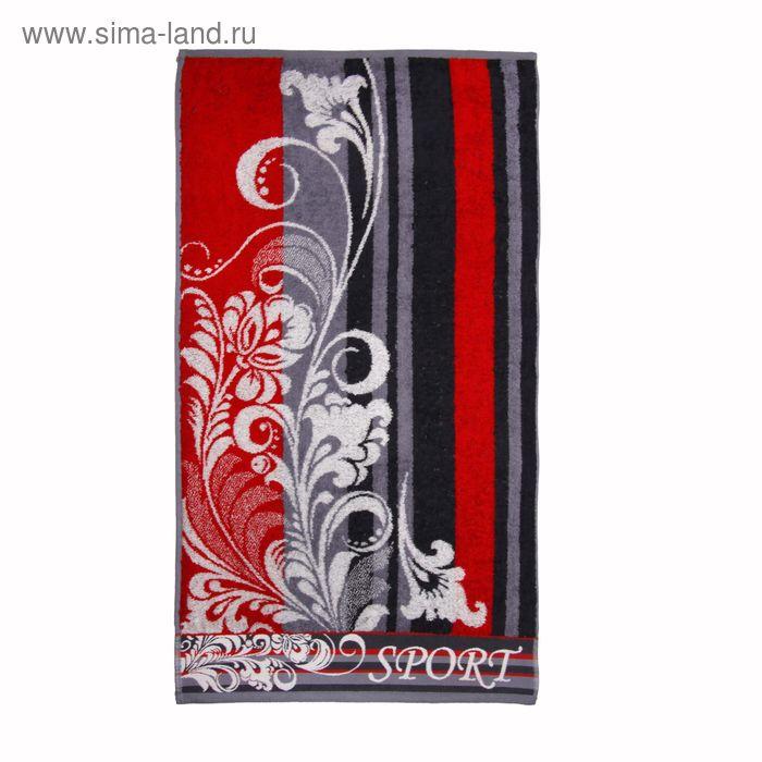 Полотенце махровое Intento ПЦ-2602-1569 цв1 50х90 см хл100%