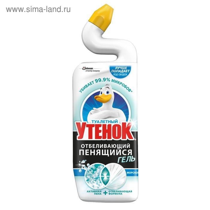 """Чистящее средство Туалетный утенок 5 в 1 """"Морской"""", 750 мл"""