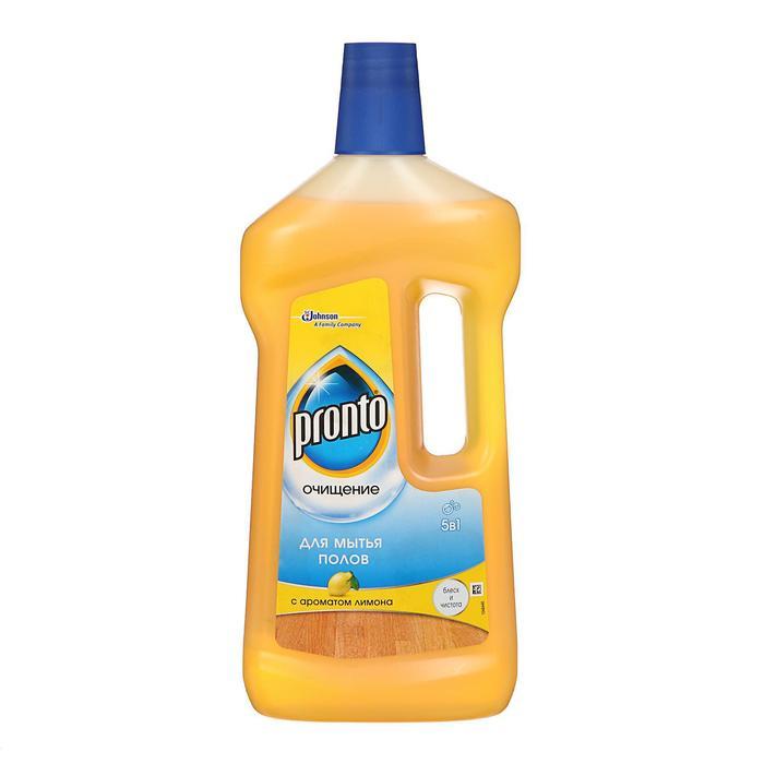 Моющее средство Рronto для мытья полов 5 в 1, 750 мл