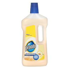 Средство для мытья полов Рronto с миндальным маслом, 750 мл