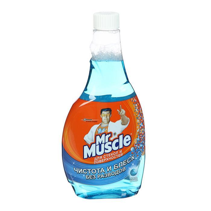 Средство для мытья стекол и других поверхностей Mr.Muscle «После дождя», запасная бутылка, 500 мл